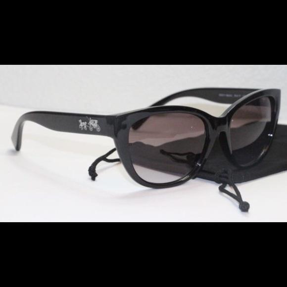 ba9f0e64e3 Coach Accessories - Coach Horse and Carriage Cat Eye sunglasses L954